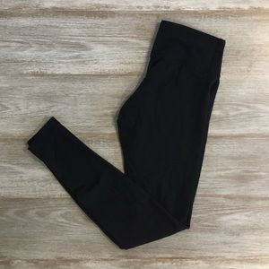 Lululemon black wonderunder legging
